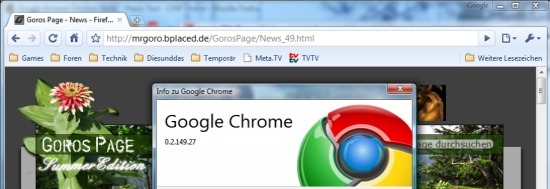 Der Google-Browser - Chrome ist da!