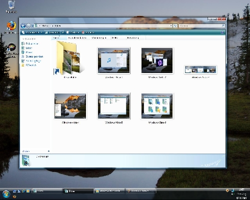 Bilder meines frisch installiertem Windows Vista - Ultimate!